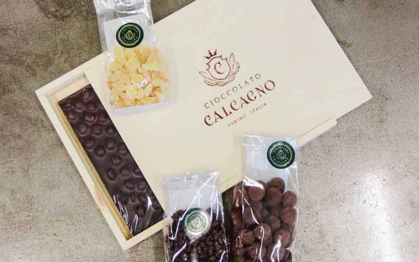 Cioccolato Calcagno, torinese dal 1946