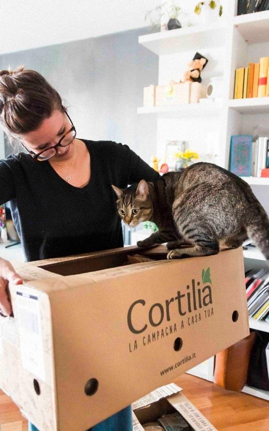 cortilia spesa domicilio torino