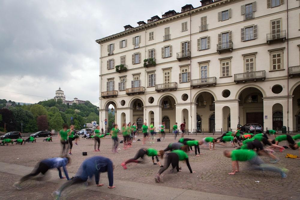 Allenamento al parco Torino