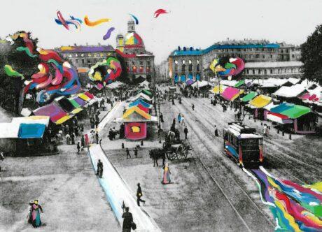 Dare colore a Torino - Porta Palazzo