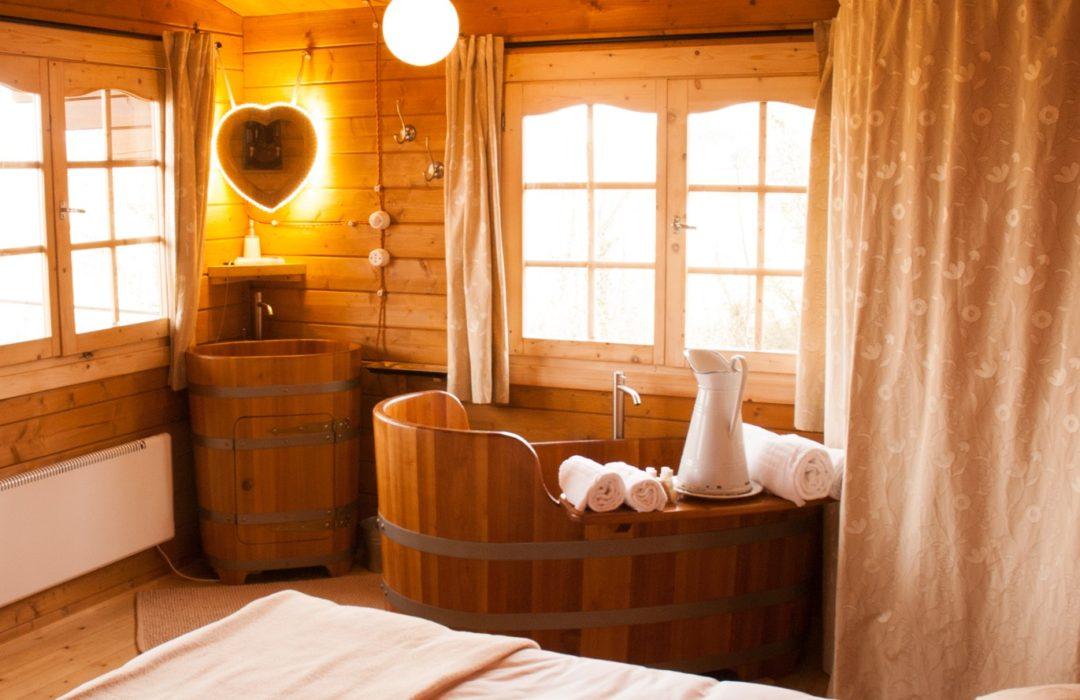 Dormire all'Eco Lodge Langhe a Cherasco