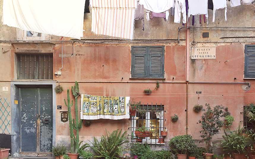 Quartiere del Carmine: un'oasi nel centro di Genova