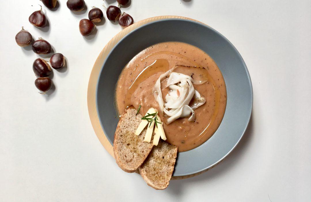 La zuppa dell'autunno: castagne, zuppa, e tanto amore