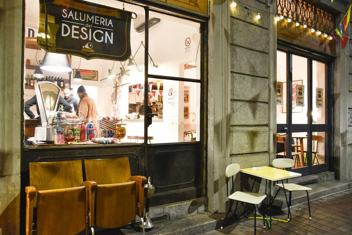 Birra, drinks e bellezza alla Salumeria del Design a Milano