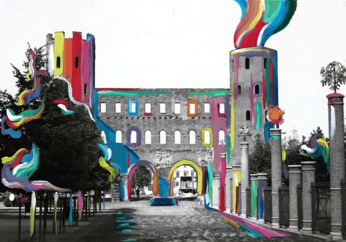 Dare colore a Torino – Porte Palatine