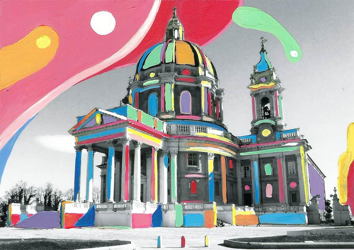 Dare colore a Torino – La basilica di Superga