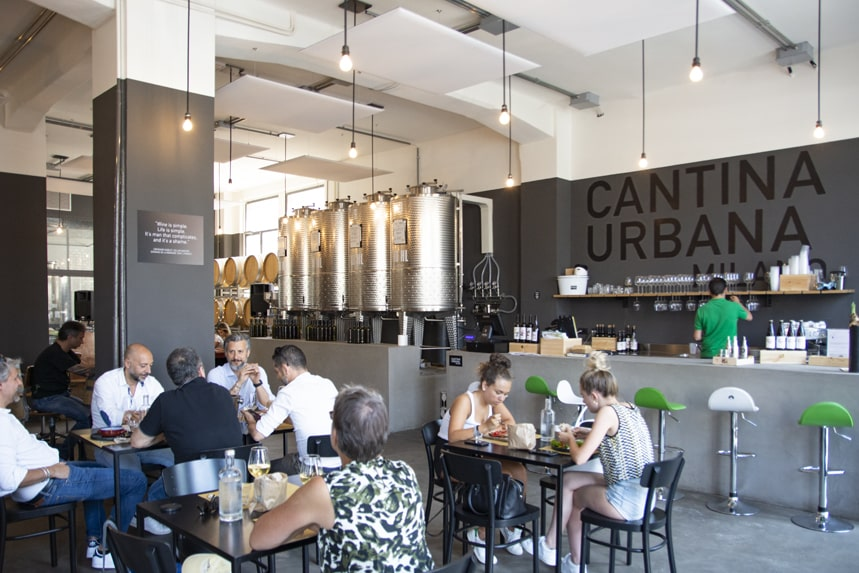 Cantina Urbana, una vera cantina a Milano