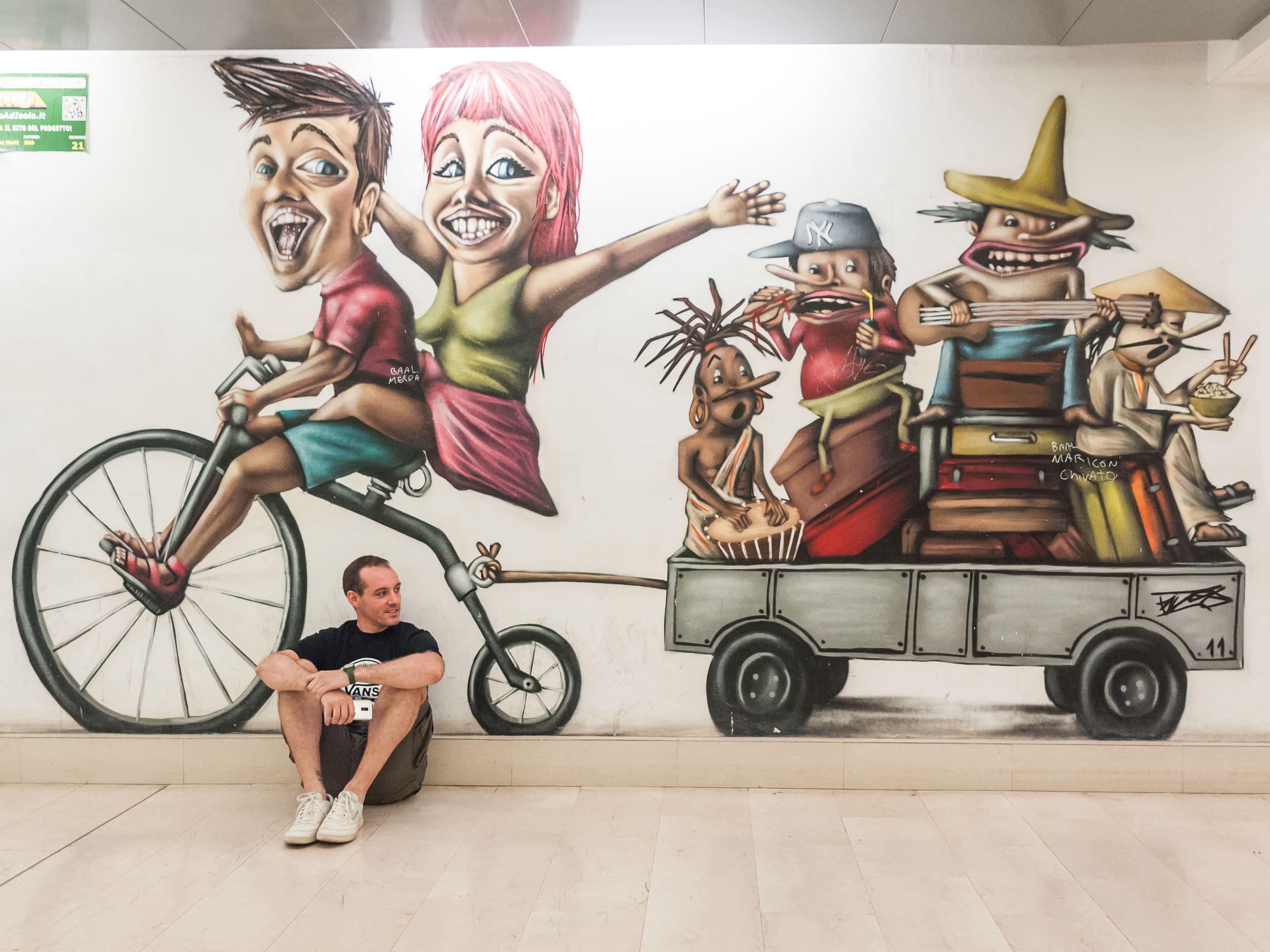 GRAFFITI Tour a Milano. Qui si viaggia