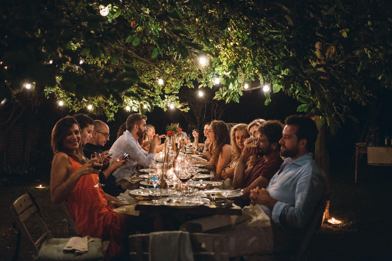 #socialtable al Ristorante Gardenia a Caluso