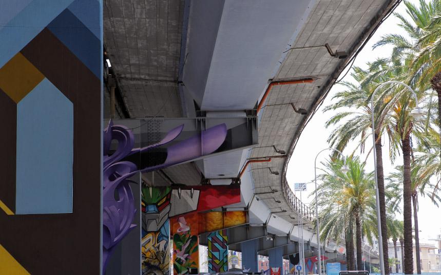 Walk the Line – quando l'arte colora la città