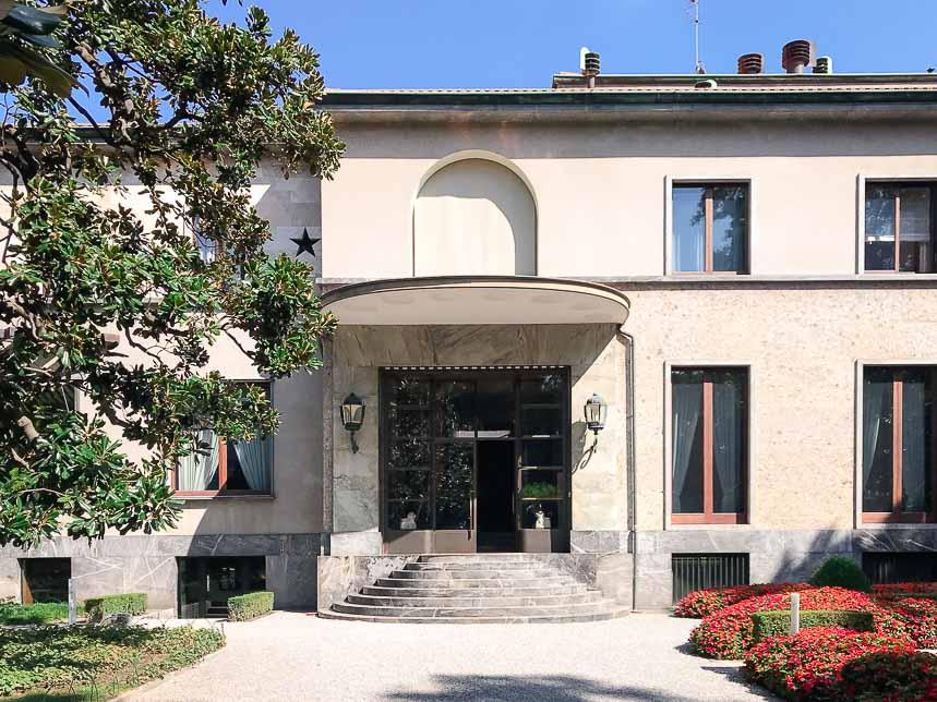 Villa Necchi Campiglio, fascino déco nel cuore di Milano