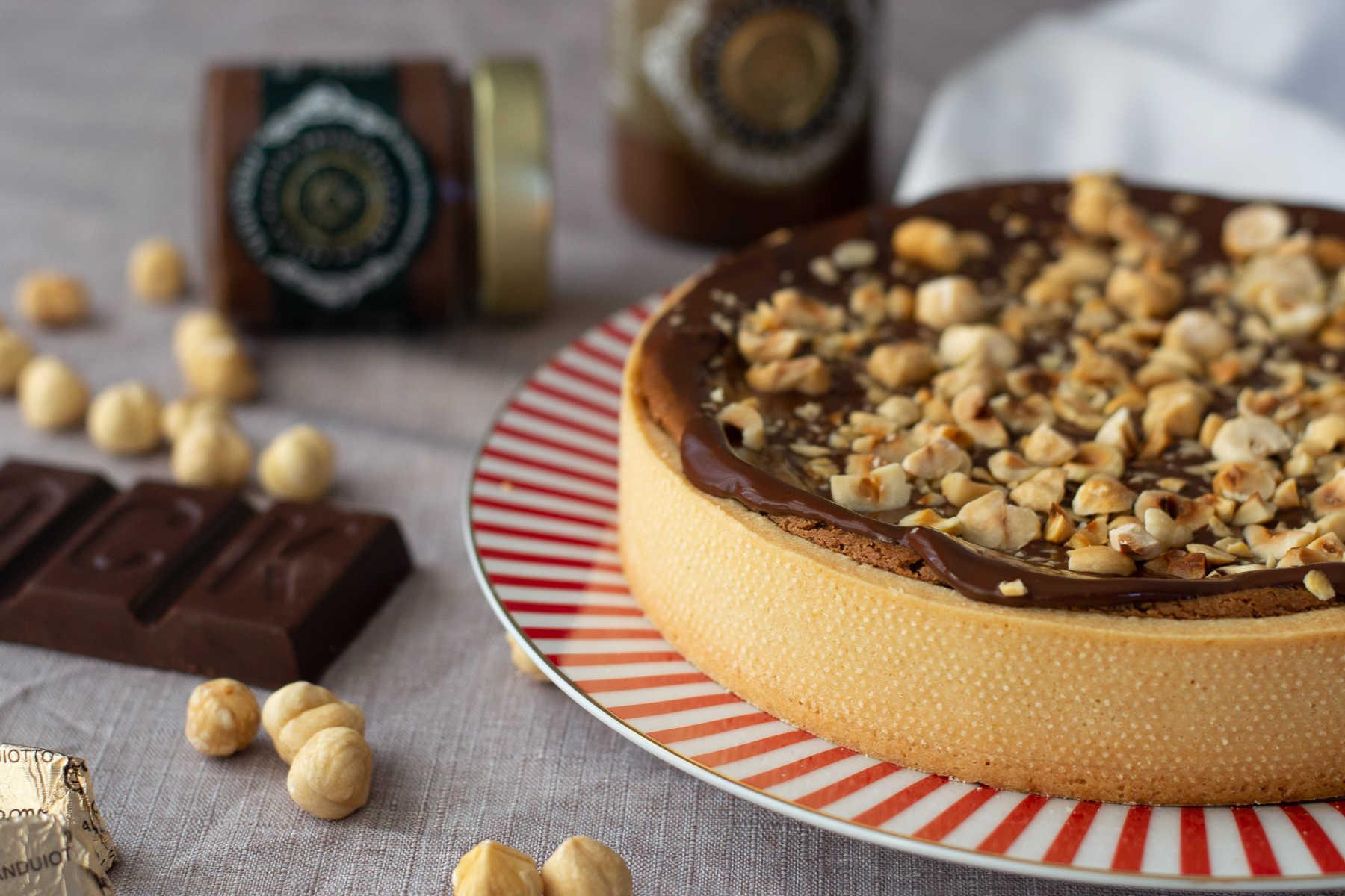 Crostata di ricotta con Crema Spalmabile Piemonte Cioccolato Calcagno | Ricetta