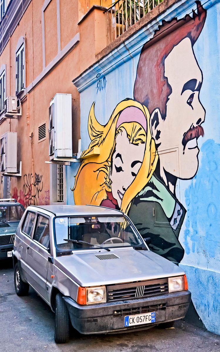 best street art Pigneto Rome