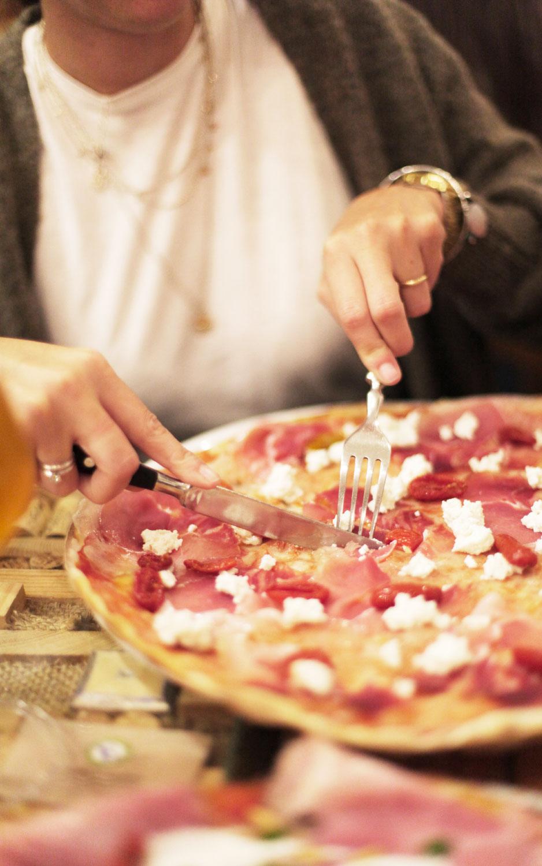 La pizza di Egizio | quella sottile