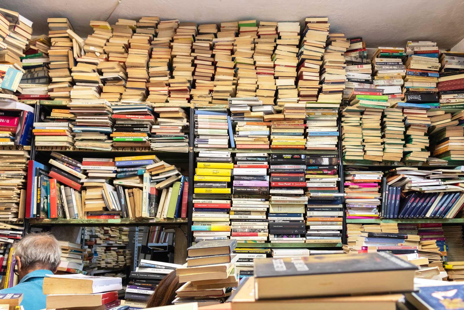 Da Angelo a Trionfale: libri usati per cuori vintage a Roma