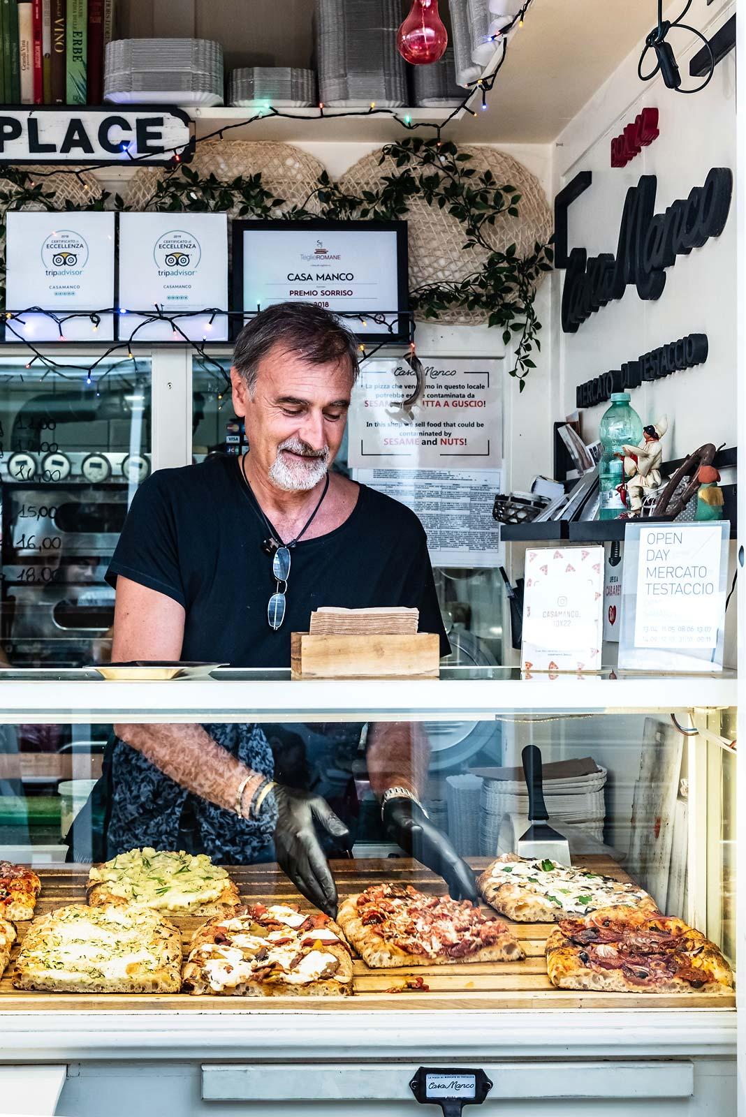 mercato di testaccio roma