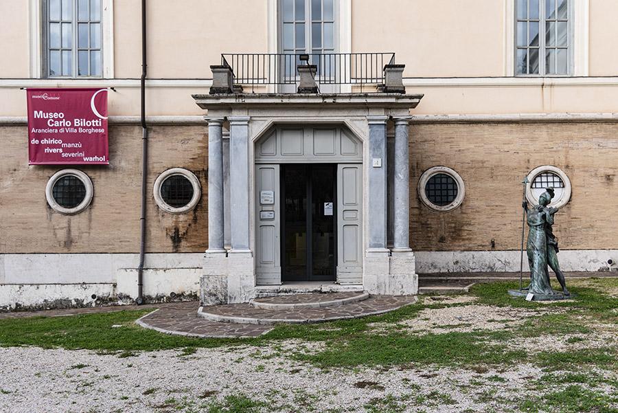 L'arte contemporanea al parco: il Museo Carlo Bilotti