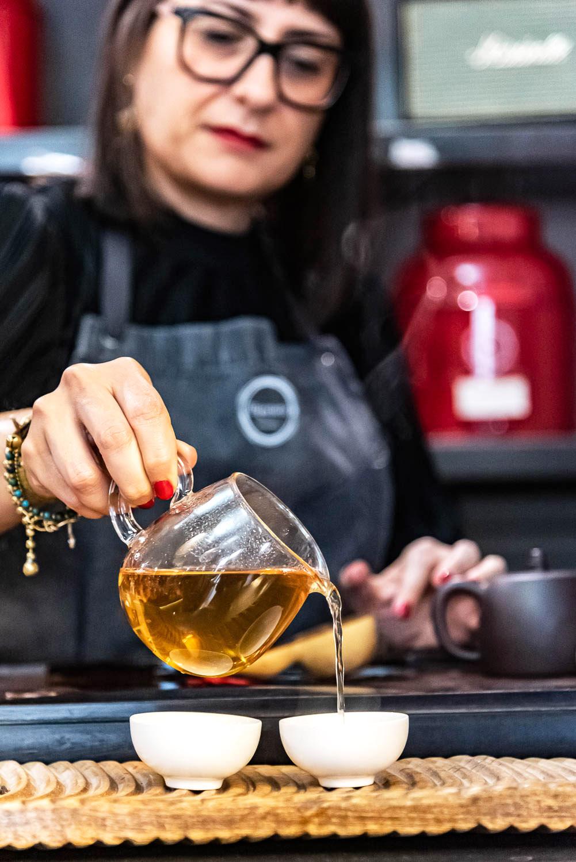 Tè e teiere Roma