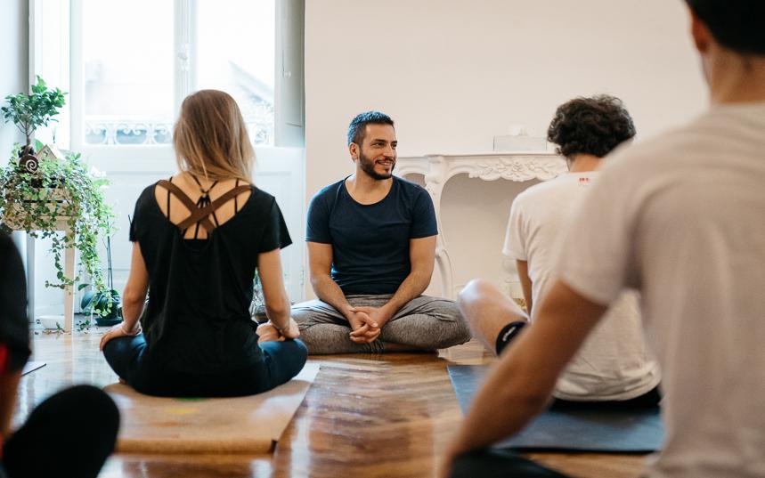 Yoga nel cuore di Torino