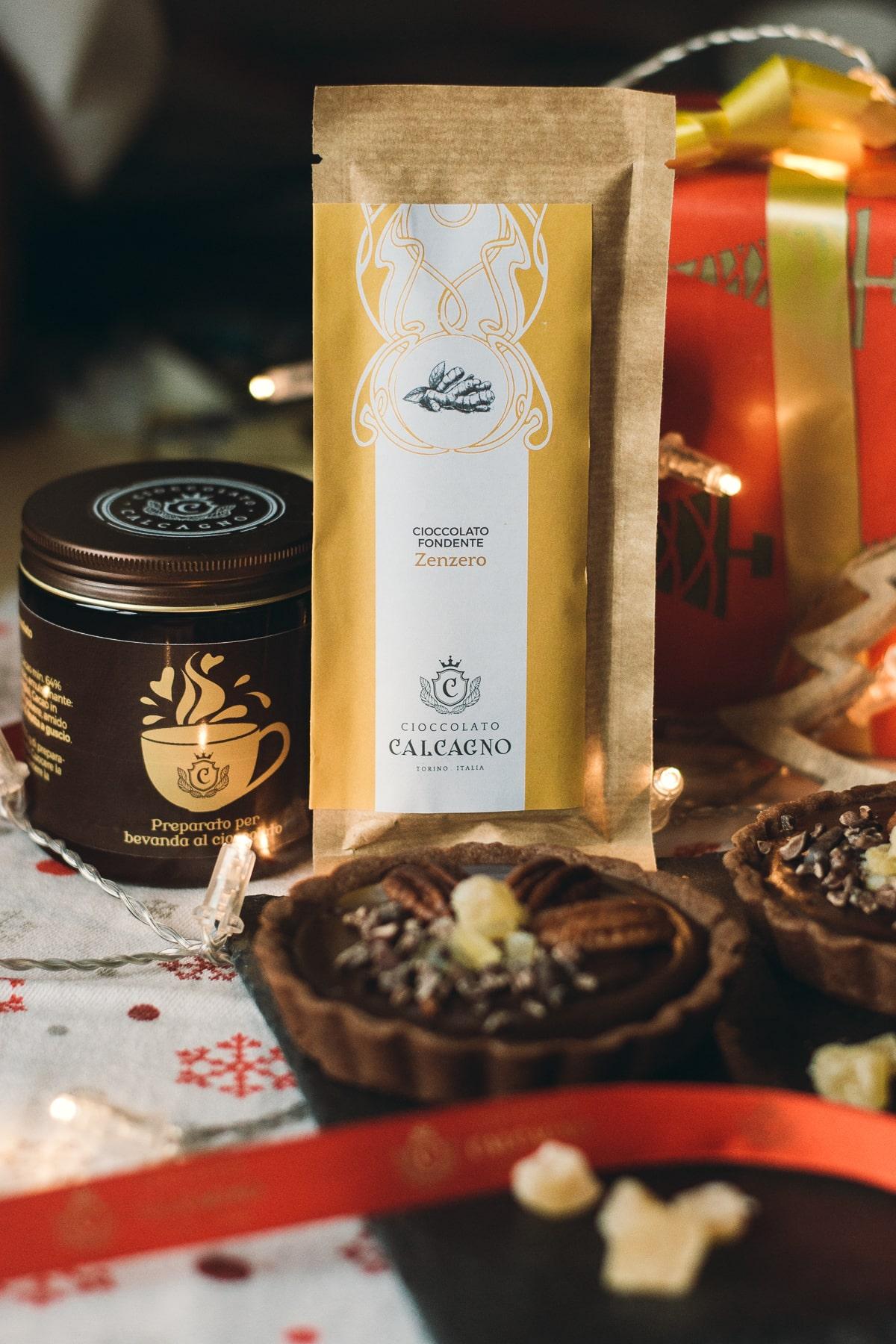 Ricetta di Natale – Tartellette al fondente e zenzero Cioccolato Calcagno