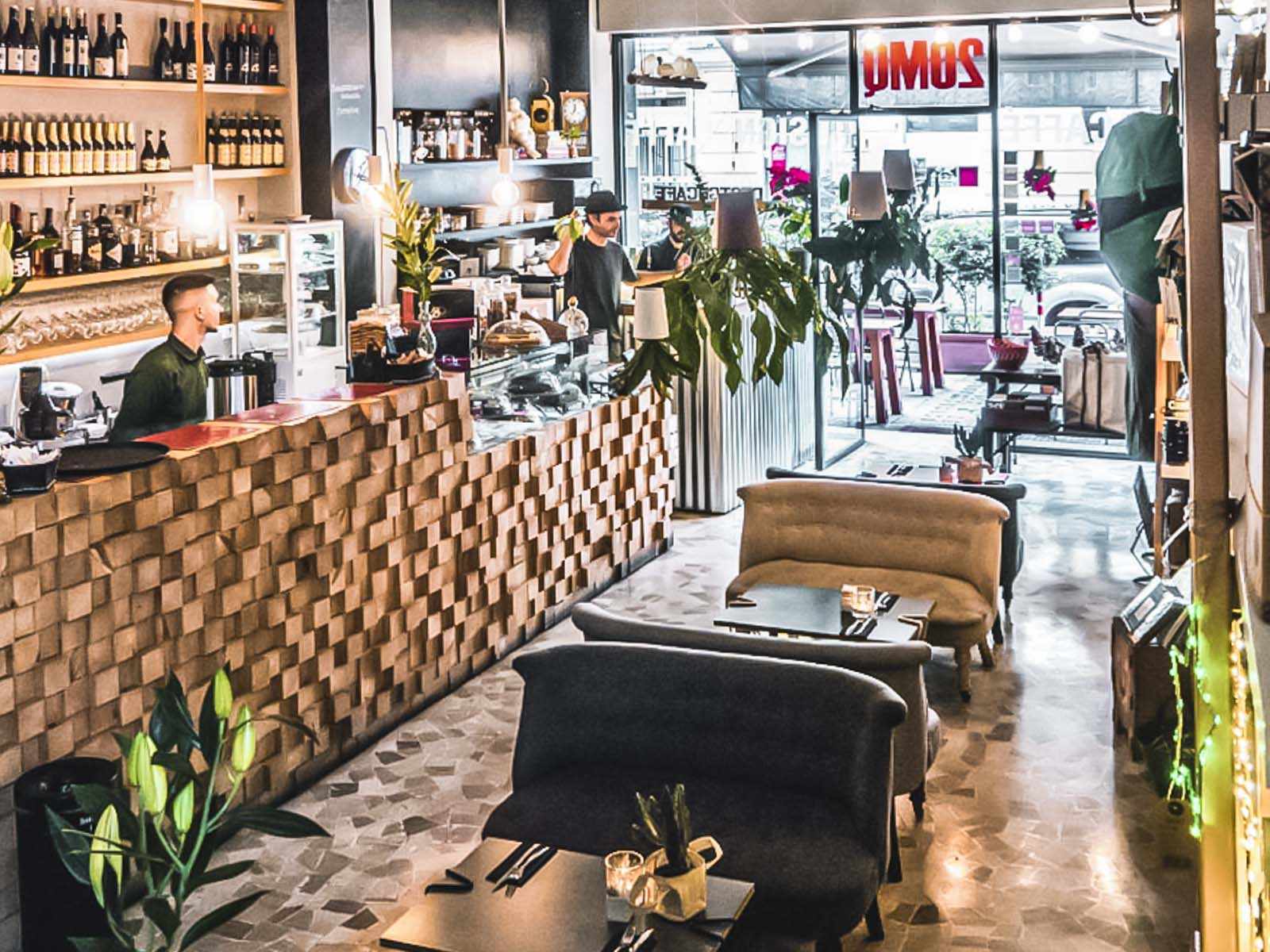 20 MQ a Roma   food e design abitano insieme al Flaminio