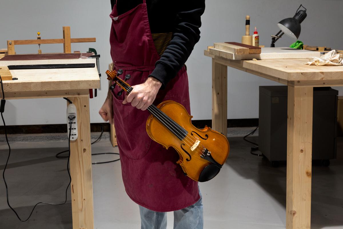 People of Turin | Finché ci sarà musica, Torino farà violini con l'anima