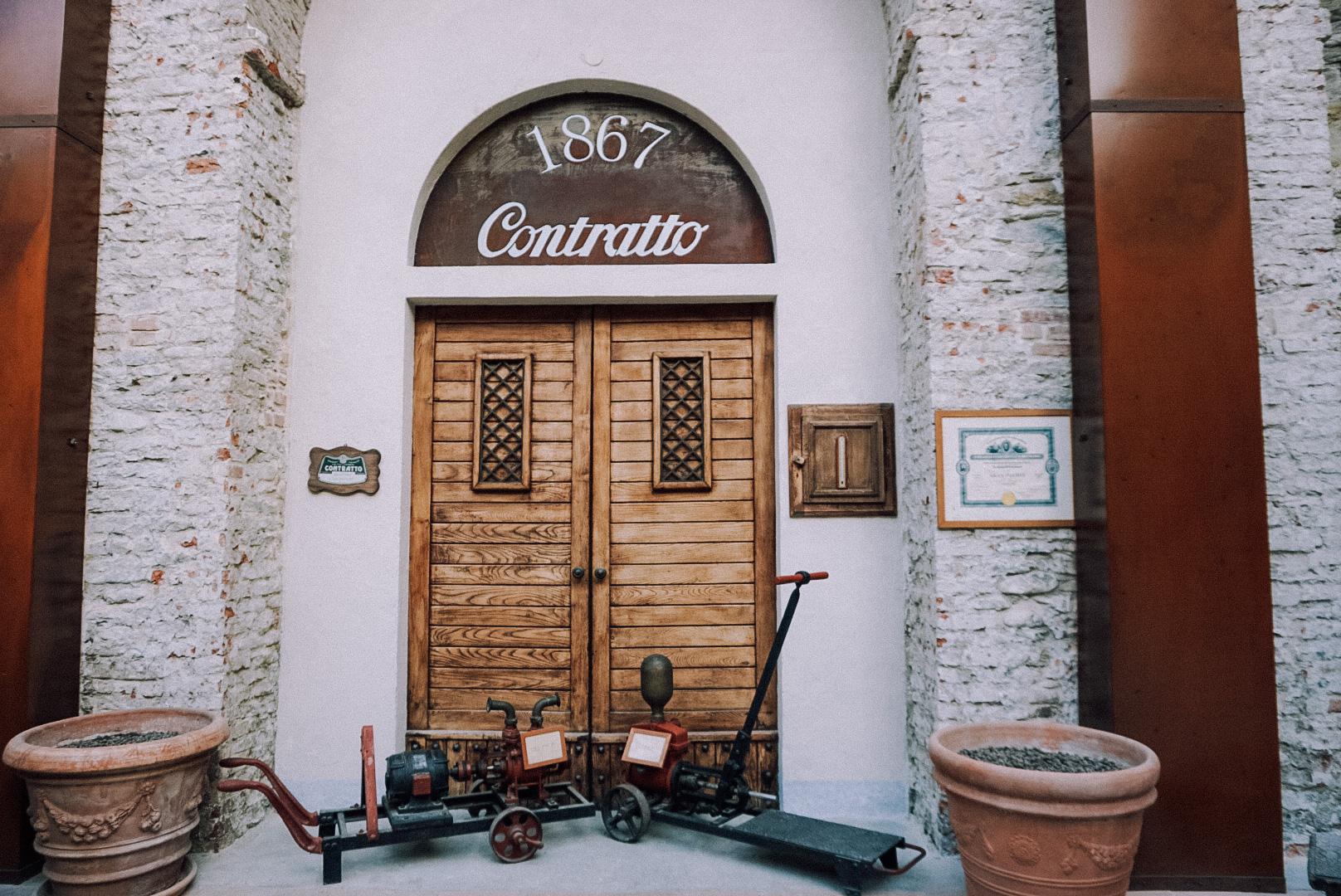 Cantine Contratto: le cattedrali di Canelli