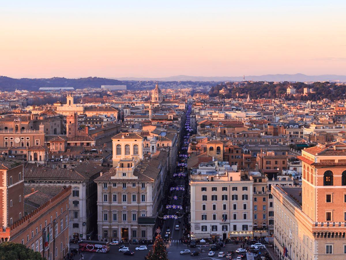 Roma dall'alto: tre imperdibili punti panoramici sulla Città Eterna