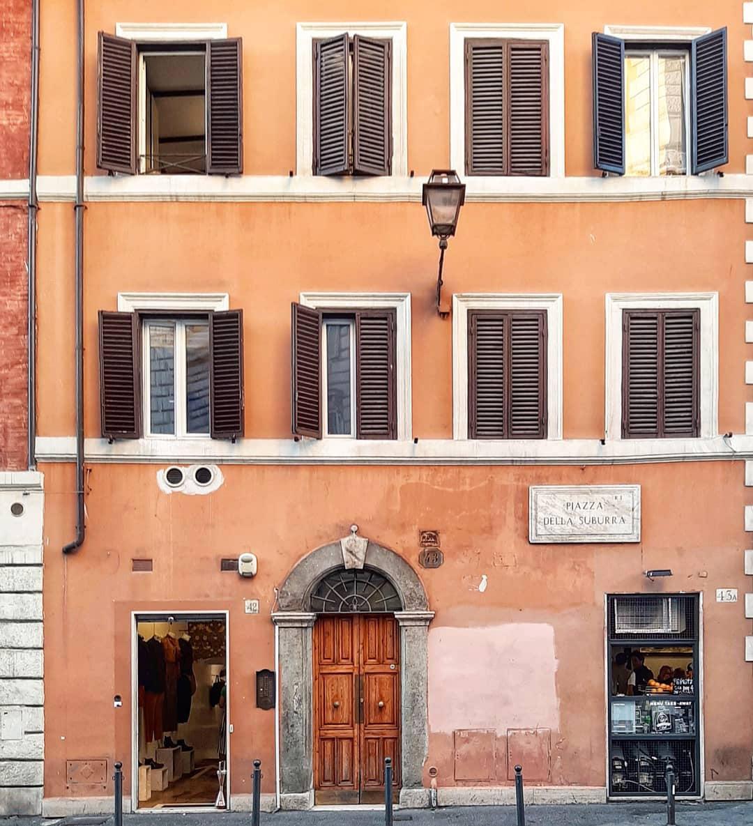 Rione Monti roma fino al Colosseo