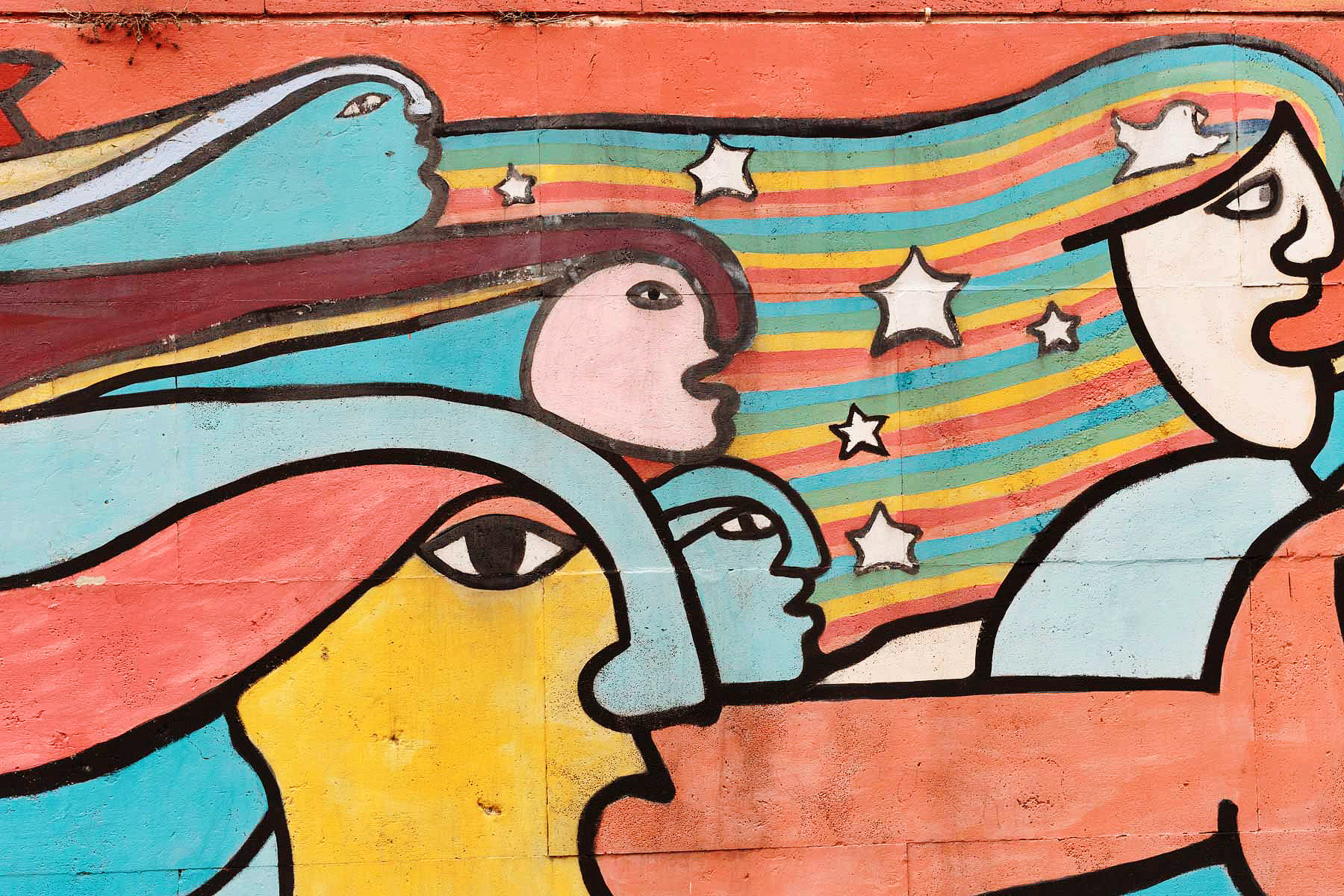 Garbatella, murale