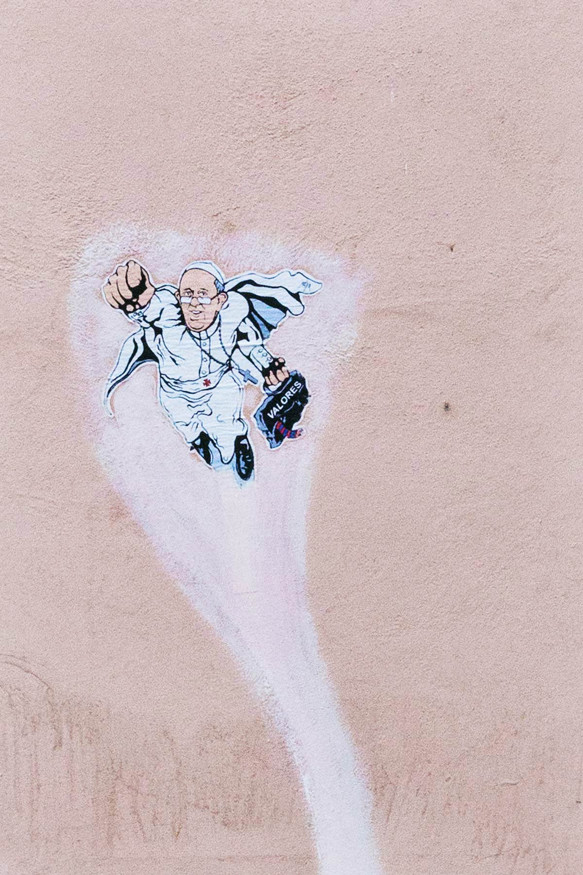 Borgo Pio, street art