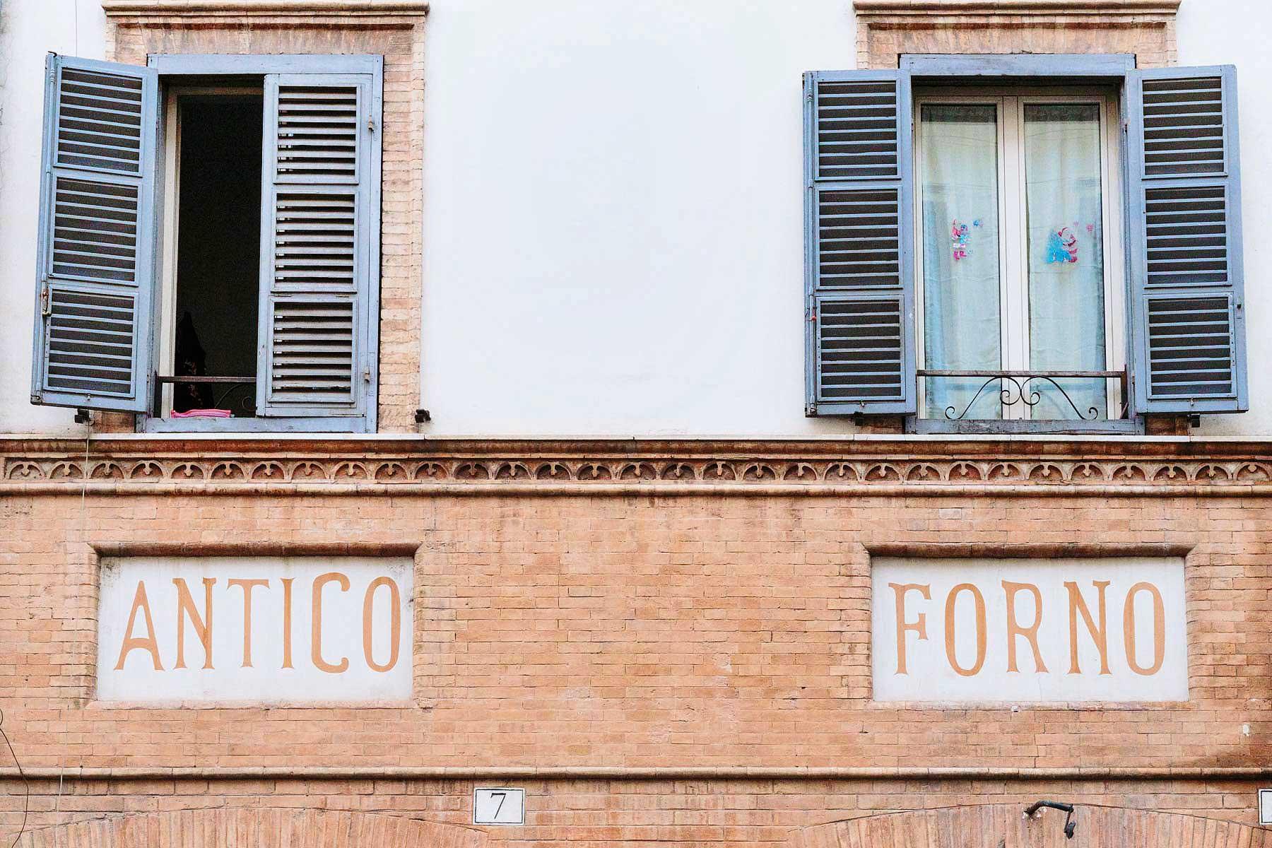 Borgo Pio, antico forno