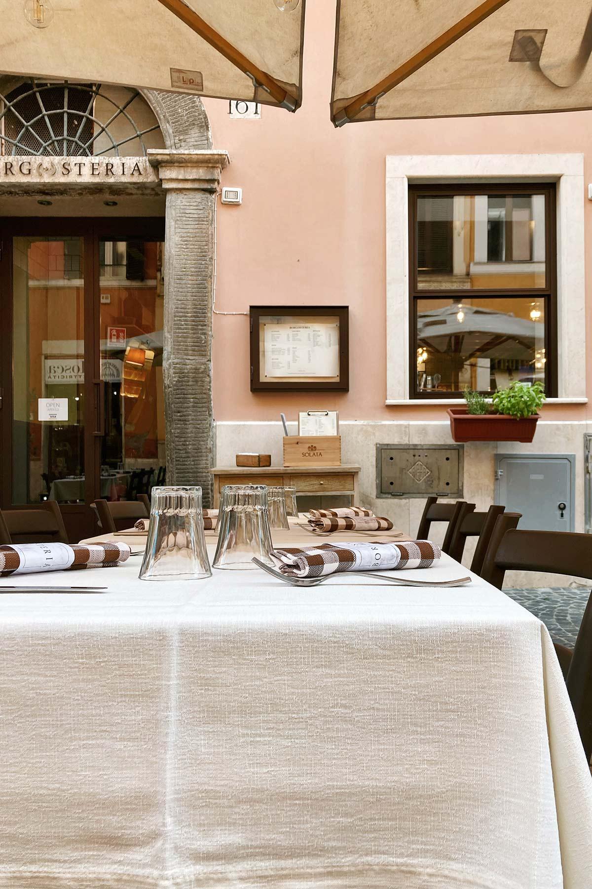Borgo Pio, ristorante