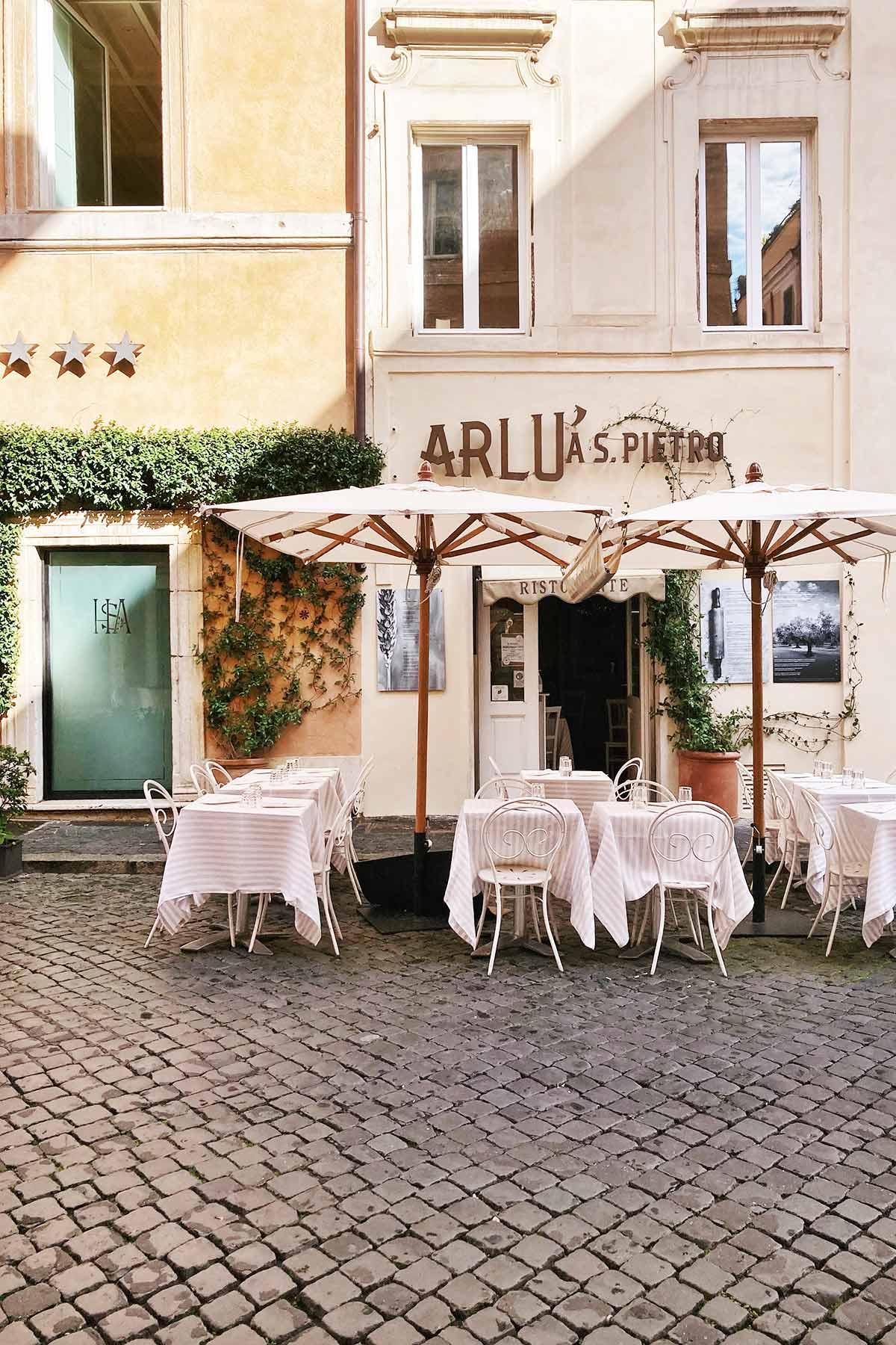 Borgo Pio, Ristorante Arlù