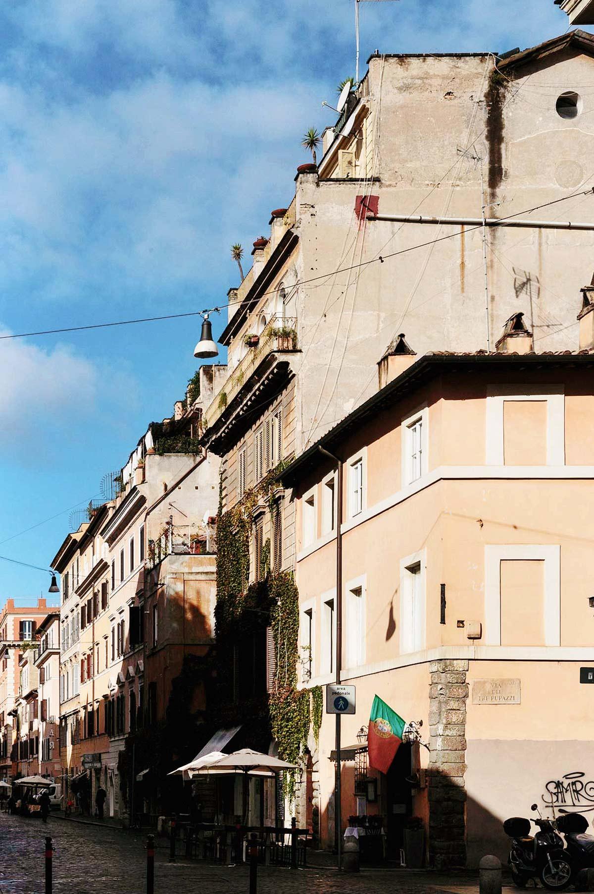 Borgo Pio, edifici caratteristici