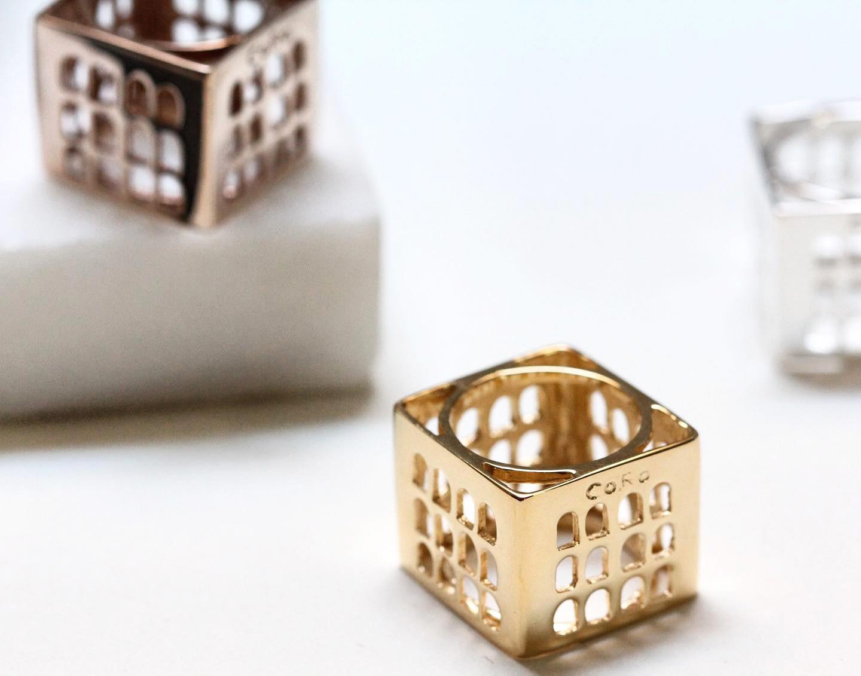 La Roma preziosa e geometrica di Co.Ro. Jewels