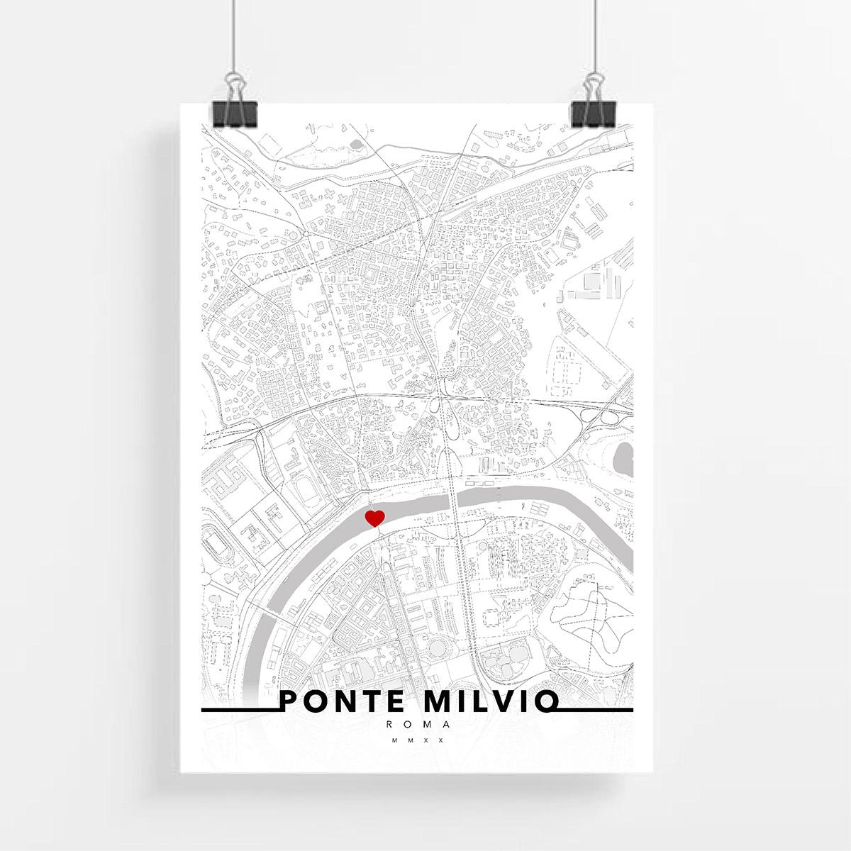 urbe mmxx mappa roma quartiere ponte milvio