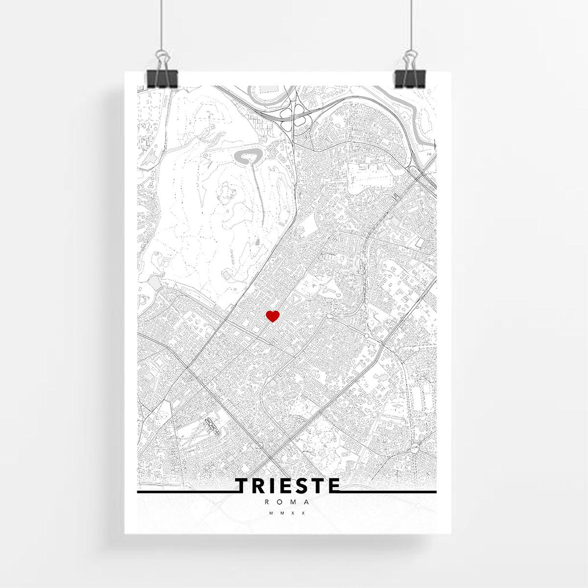 urbe mmxx mappa roma quartiere trieste