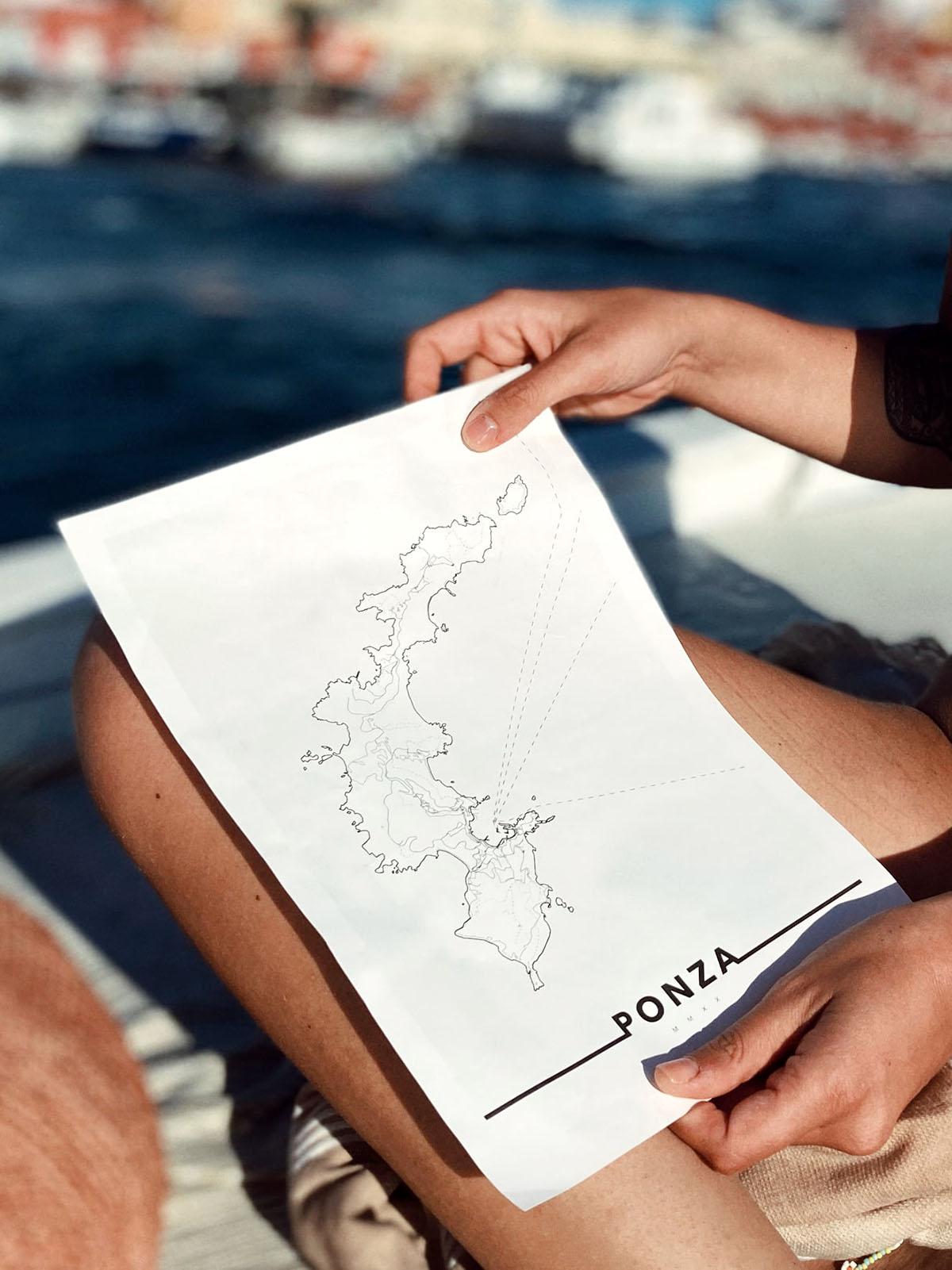urbe mmxx mappa isola di ponza