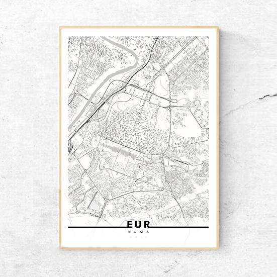 urbe mmxx mappa roma quartiere eur