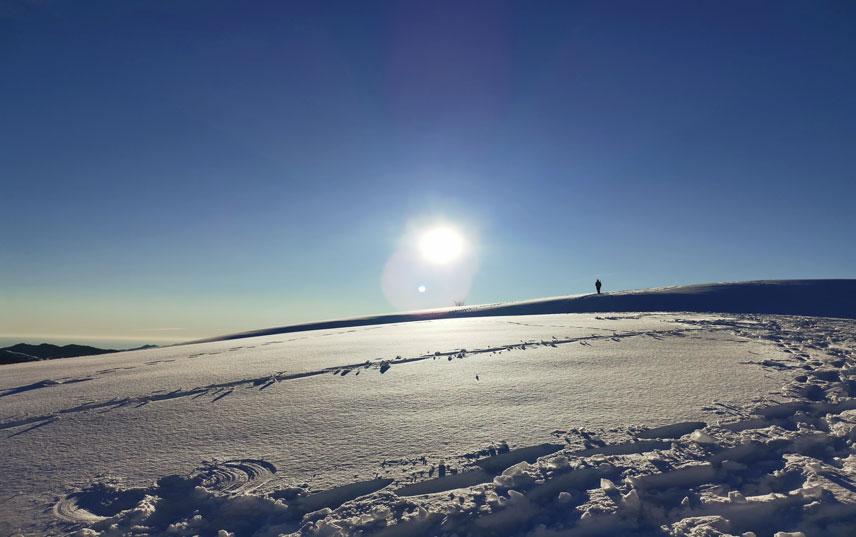 Let it snow! Passeggiate nella neve