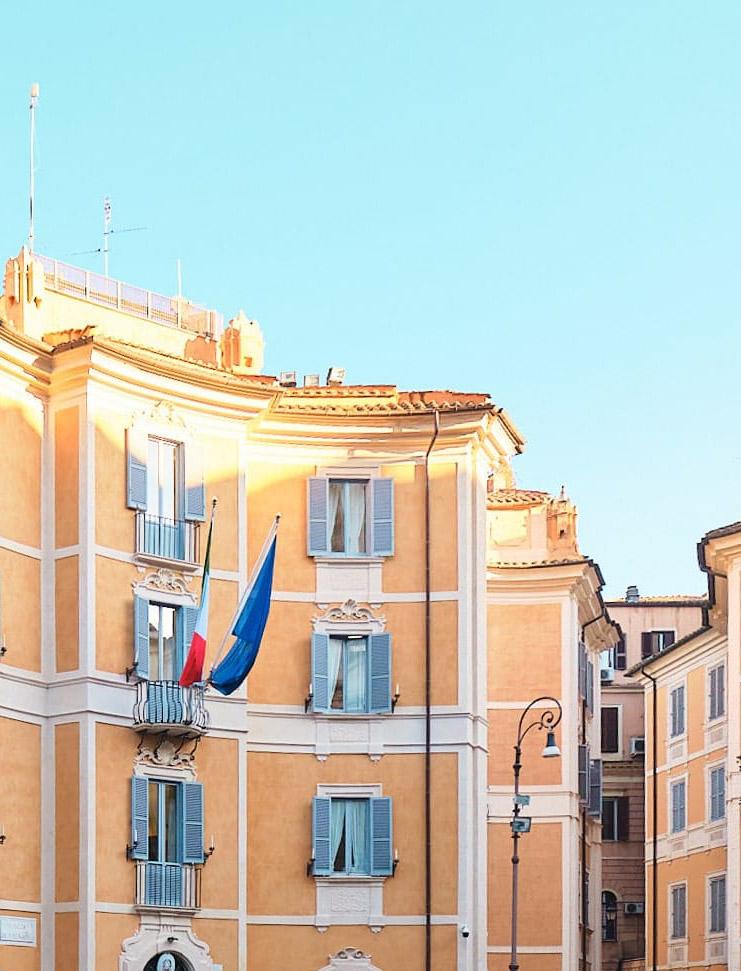 Piazza di S. Ignazio, tra le piazze minori del centro storico, Roma