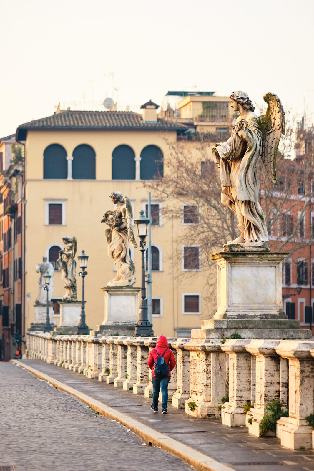 Statua, Ponte Sant'Angelo, Roma